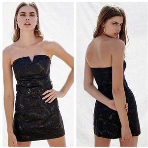 NWT Free People show stopper mini dress